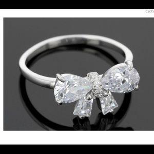 Jewelry - 3.02 ctw Lab simulated Diamond/Sterling 925 Sz 5